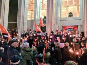 Save our Civic Centre candlelit vigil