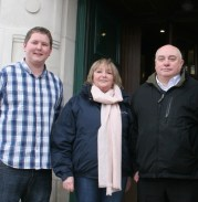 Heath: Cllr Dan Young, Cllr Linda Reason, Cllr Dave Miles