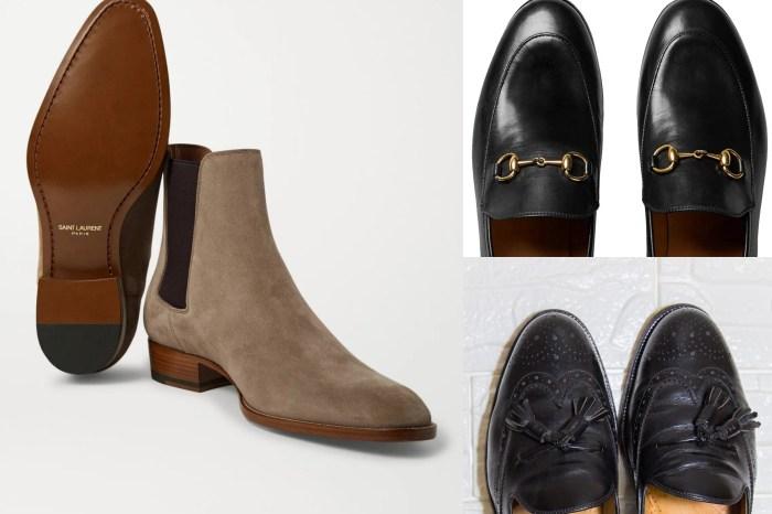 男鞋|3雙休閒正式皆可的精品皮鞋 GUCCI / BURBERRY / YSL