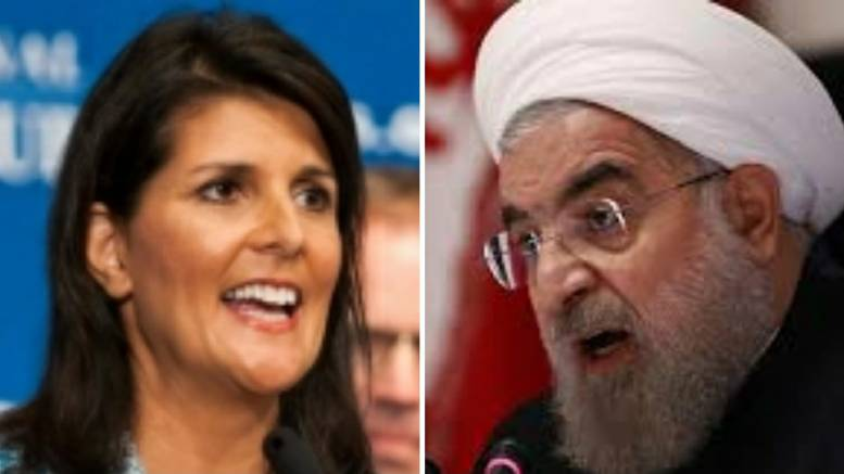 (Feature Photo by screen capture, Dagger News. Nikki Haley and Iran.)