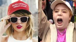 Feature photo credit to Dagger News screen captures. Taylor Swift is attacked by lefties for being apolitical.