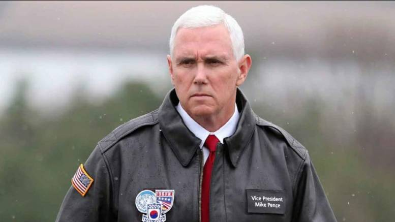 Feature Photo credit to CNN. VP Mike Pence responds to Iran.
