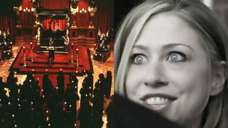 Credit to Dagger News compilation. Chelsea Clinton wishes Church of Satan Happy New Year.