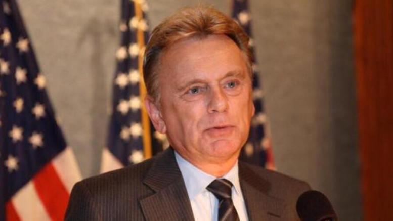 Pat Sajak of Wheel of Fortune fame, issues twitter statement to Hollywood! Photo credit to screen capture by Dagger News.