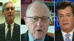 Dershowitz calls it like he sees it on the Manafort Witch Hunt trial beginning today. Photo credit to US4Trump with screen grabs enhanced compilation.