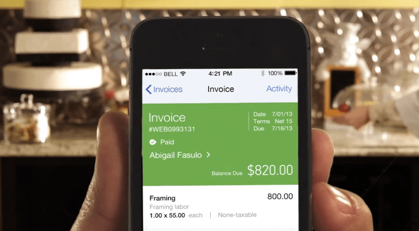 QuickBooks Tips  5 Ways To Get Your Clients To Pay Your Business     QuickBooks Invoice