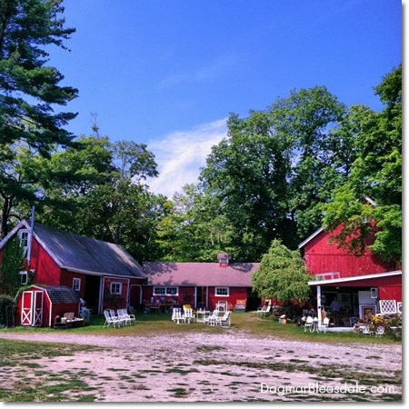 The Barn at Sundial Farm antique store