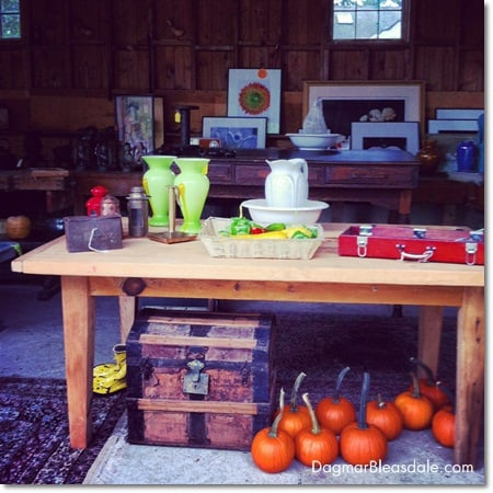 antiques at The Barn at Sundial Farm, Ossining, NY