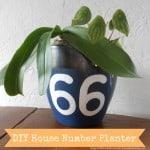 Dagmar's Home: DIY house number planter