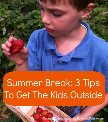 Dagmar's Home: tips to get kids outside during the summer break