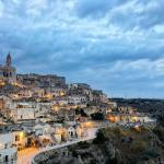 Romantic night sleeping in a Cave room in Matera
