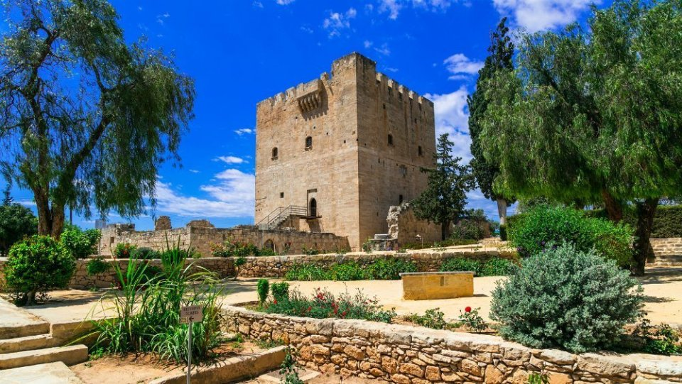 Cyprus-Limassol-Castle-of-Kolossi Sunshine holidays & more in the South Mediterranean