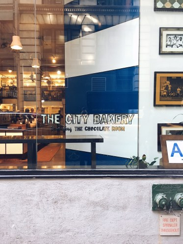 Looking into City Bakery