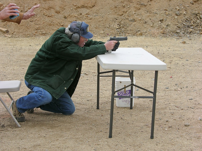 shooting from table