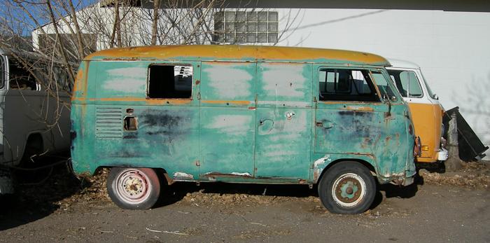 Old VW Bus in Mayer, AZ