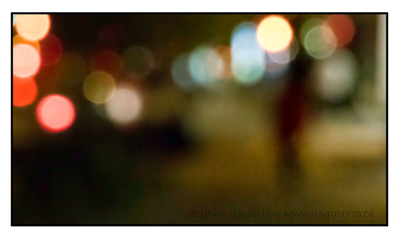 My personal favourite: a photo impressionistic view of West Broadway at night.