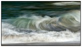 Waves breaking on the beach at Body Holiday in St Lucia. A 10 image time stack. © Stephen D'Agostino