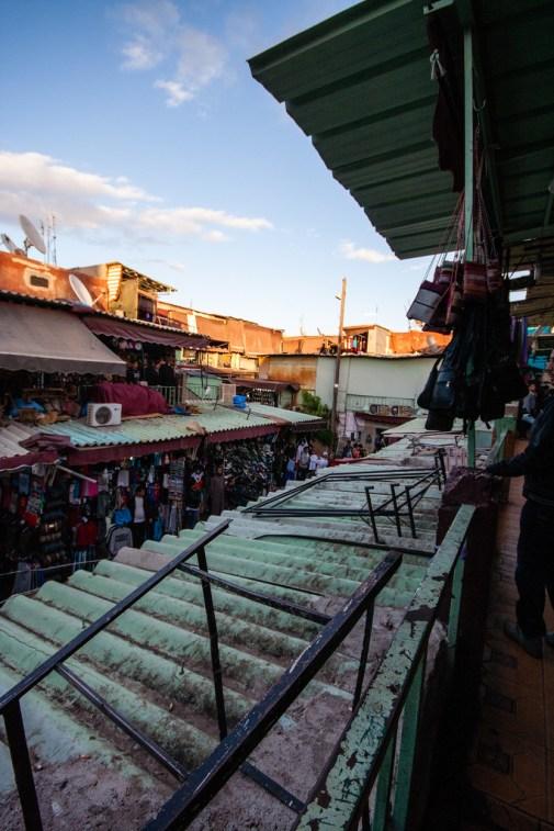 Dans le souk de Marrakech.