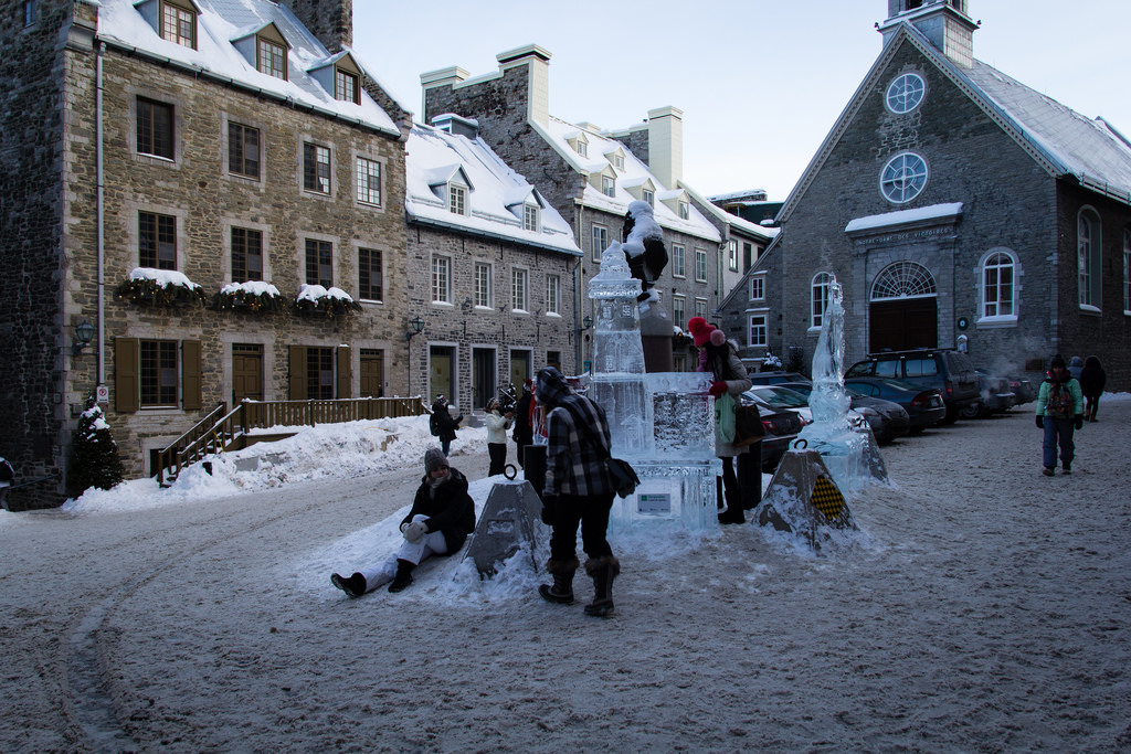 Les vieilles pierres de Québec City