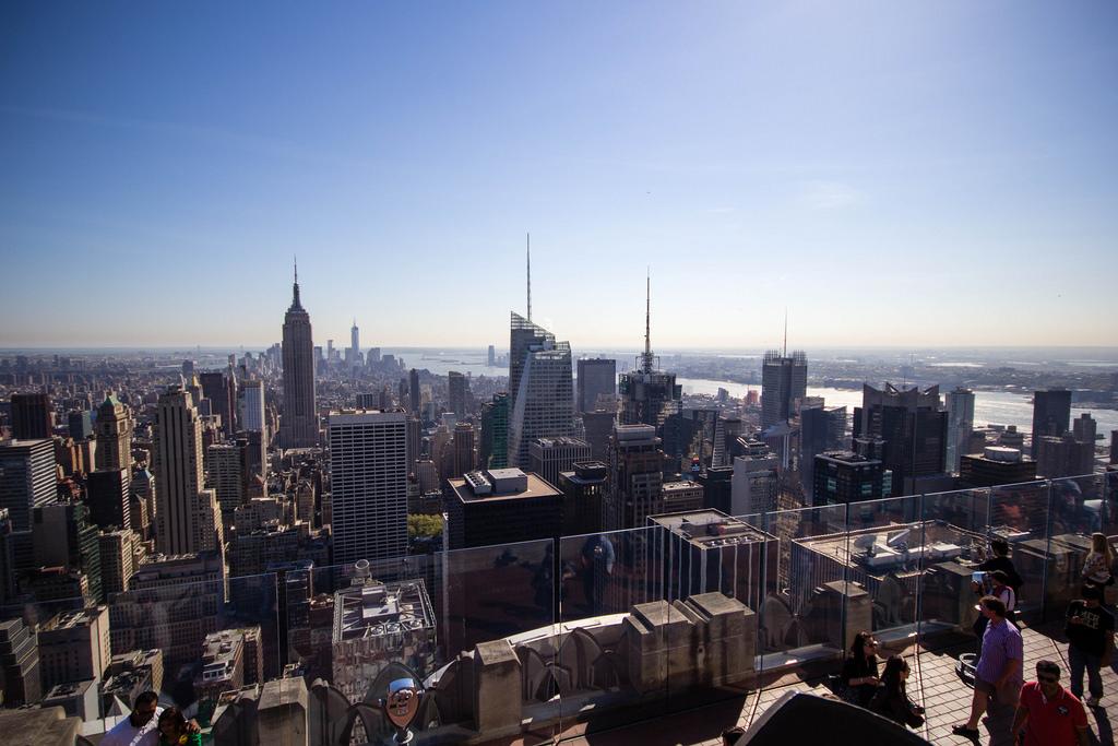 New-York vue de haut.