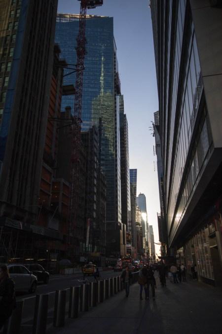 Dans les rues de NYC.