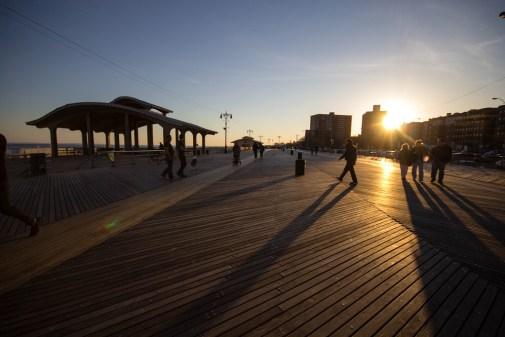 Promenade de Coney Island.