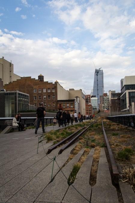 Promenade sur la High Line.