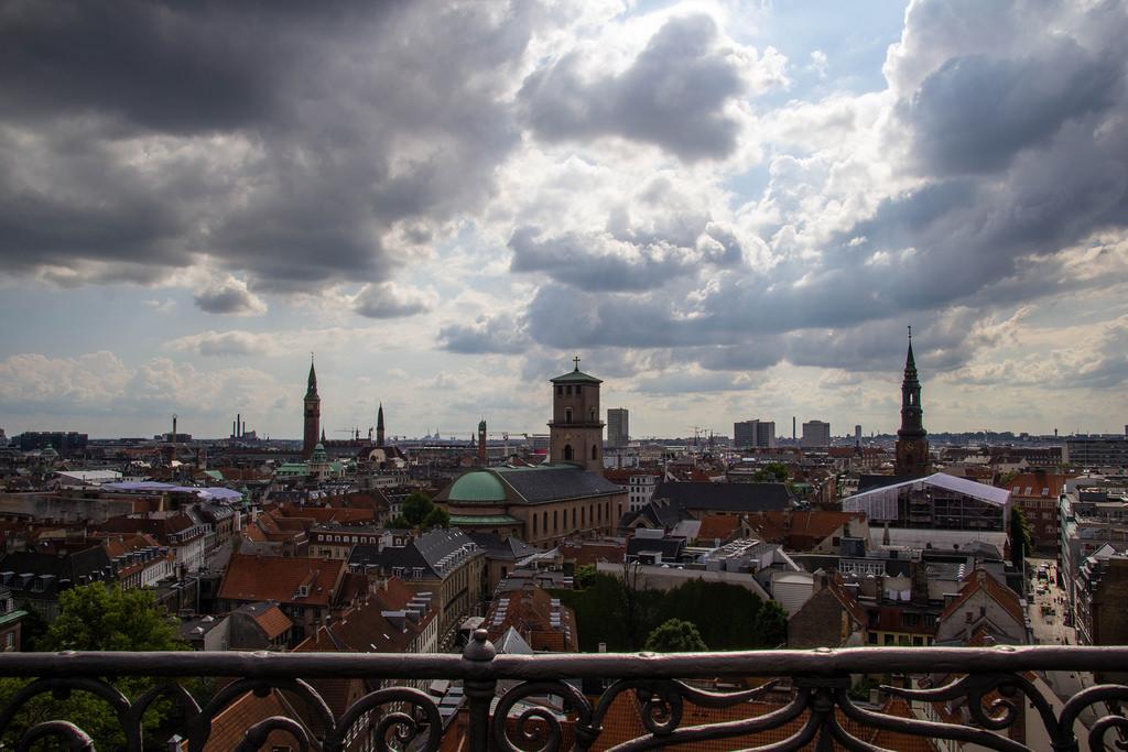 Vue en hauteur de Copenhague.