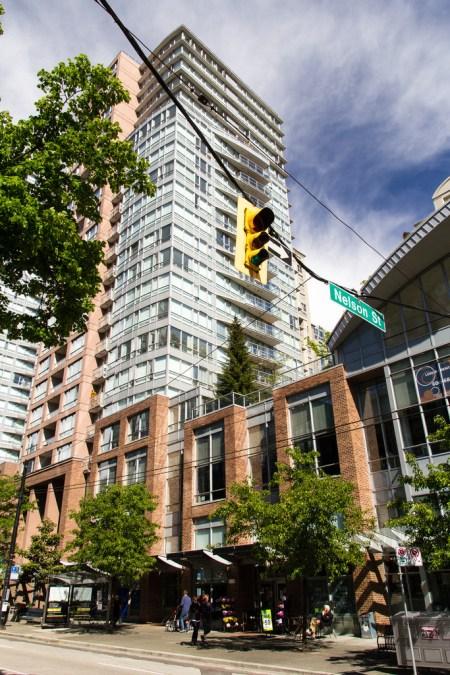 Immeuble d'habitation classique de Vancouver.