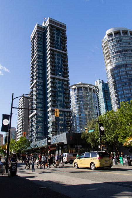 Immeubles classiques de Vancouver.