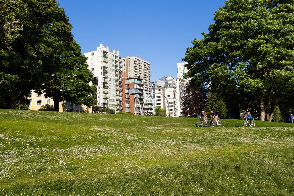 Balade en vélo au coeur de Vancouver.