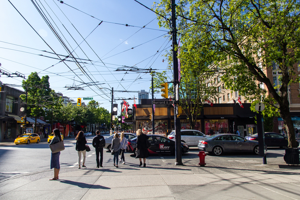 Balade dans les rues de Vancouver.