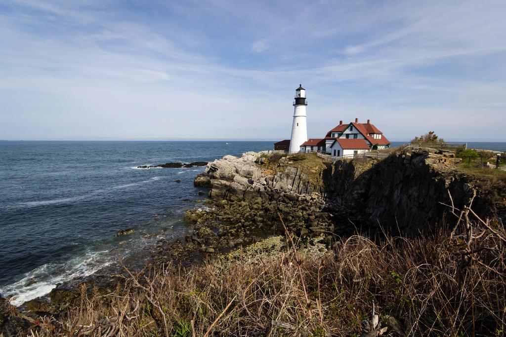 Phare de Portland, cap Elizabeth, Maine.