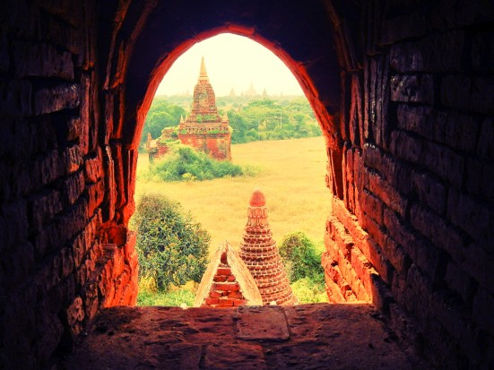 temples everywhere in Bagan