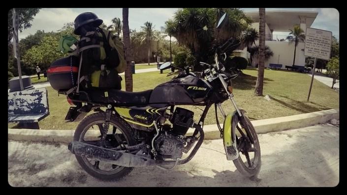 motorcycle through mexico, italika