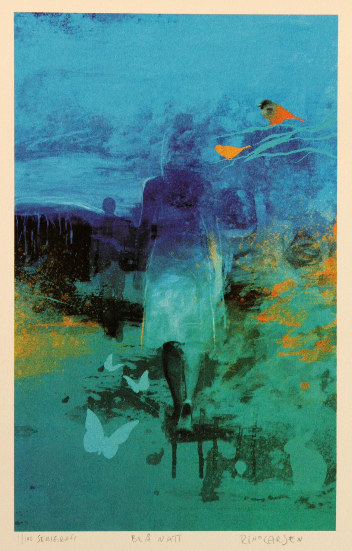 Rino Larsen – Blå natt