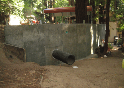 Retaining Wall to Add Parking