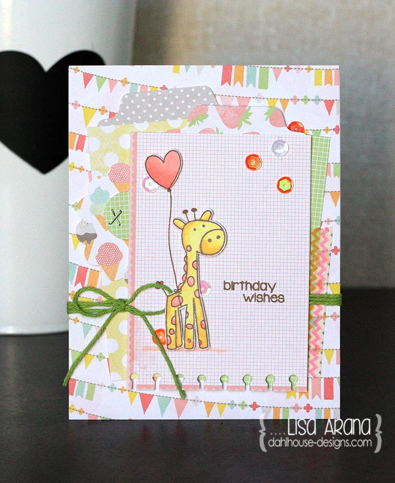 dahlhouse designs | giraffe balloon 2014