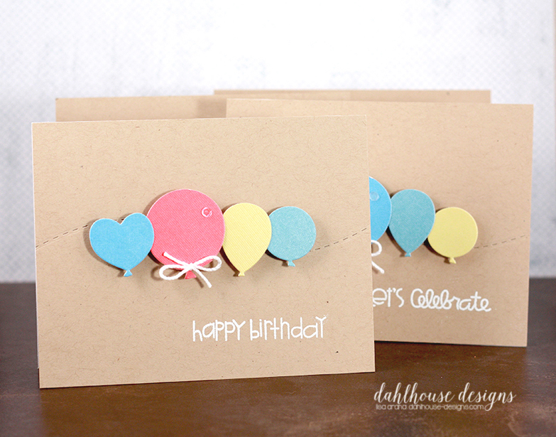 dahlhouse designs | 9.2015 birthday balloons