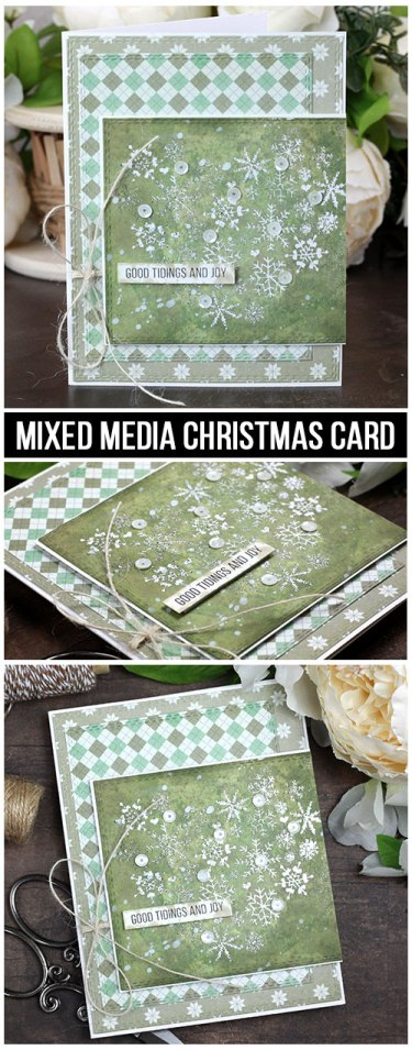 Sharing a simple Christmas card idea with a tutorial & quick video. The images are from the Heart of Christmas Unity Stamp Company stamp set. More inspiration on dahlhouse-designs.com. #cardmaking #cardmaker #cardmakingideas #cardinspiration #simplecards #stamping #dahlhousedesigns #unitystampco #handmadecards #diecutting #carddesign #cardtechnique #christmascard #minc #decofoil #thermoweb #timholtz #distressink