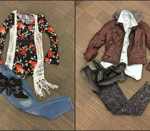 Back to School Girls Outfits