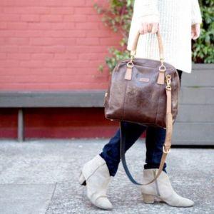 Ellington Jade Satchel Handbag