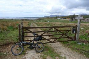 Footpath to Dunscaith Castle