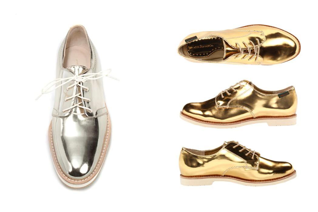 666ca5233b Sapatos Metalizados são Aposta para inverno 2016-2017 – Daiana Dick ...