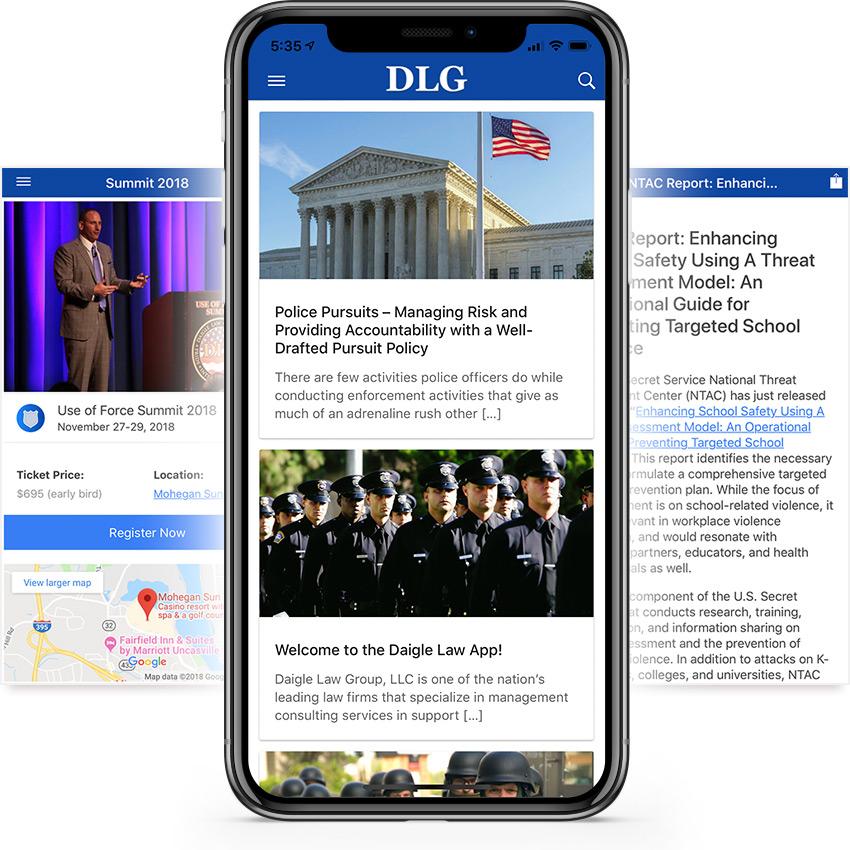 Daigle Law Group App