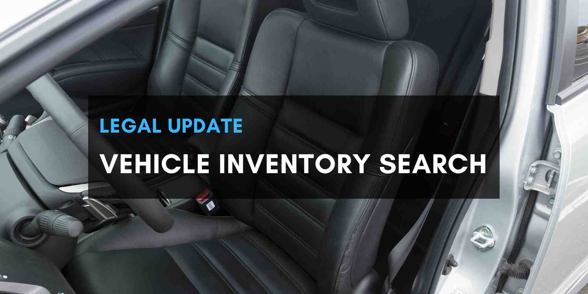 Vehicle Inventory Search - Daigle Law Group