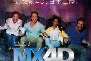 mx4dの宣伝ポスター