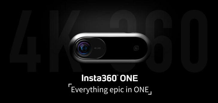 360度カメラのinsta360oneで撮影
