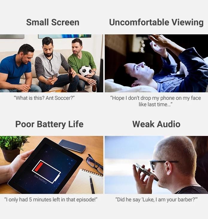 最高の動画体験をするにはスマーフォンでは小さすぎるのでankerのプロジェクターをを