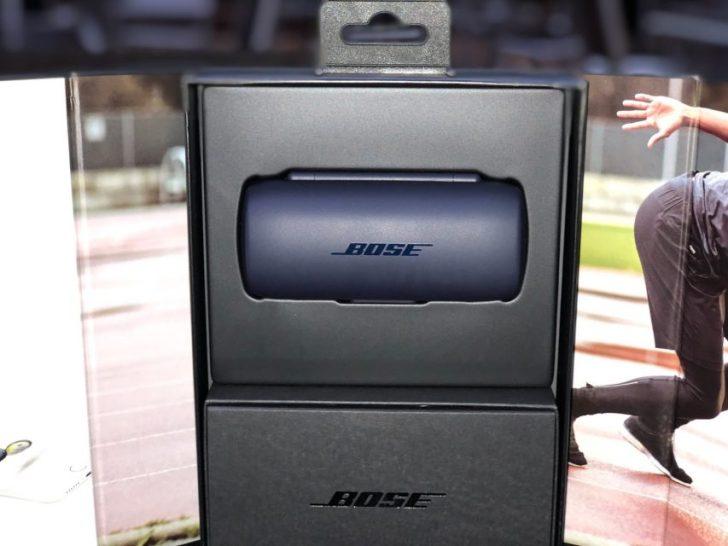 Bose SoundSport Free wireless headphones 完全ワイヤレスイヤホン ミッドナイトブルー/イエローシトロンの本体